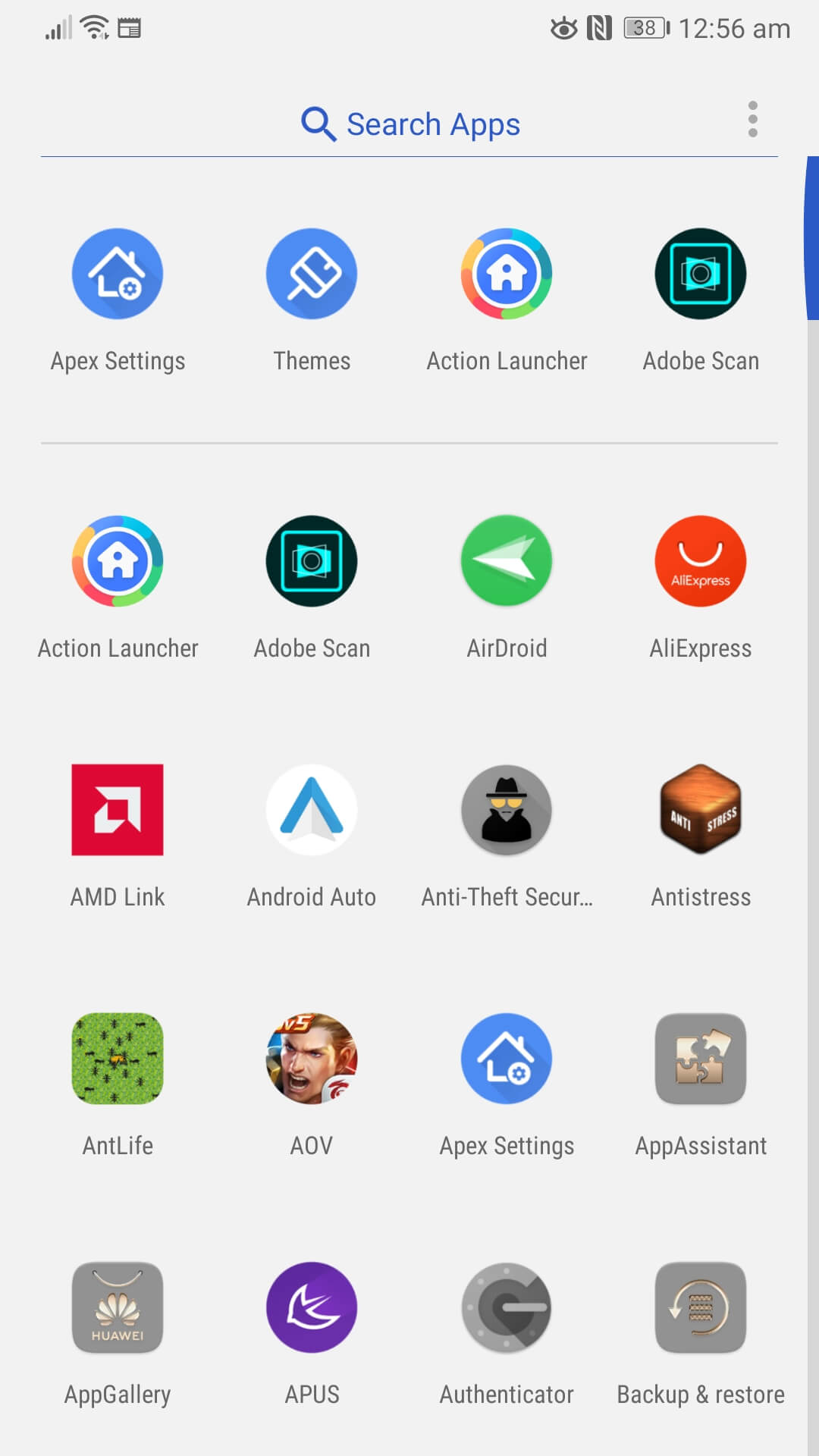 fastest-android-launcher-apex
