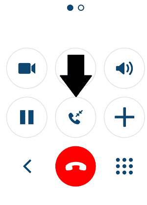 Switch Between Calls