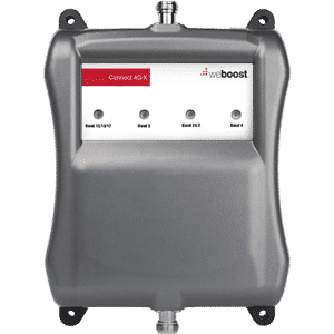 Signal Booster for Large Spaces