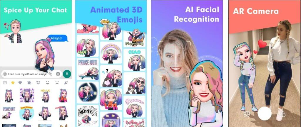 Best Animoji Apps for Android- Bemoji