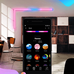 Customize lights with themes!