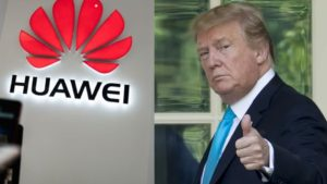 President Donald Trump has given the go signal for American companies to start selling their products to Huawei again