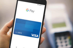 Google Pay is made possible with near-field communication (NFC) technology