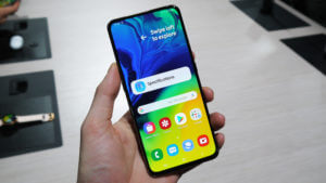 "Galaxy A80 new ""Infinity Display"""