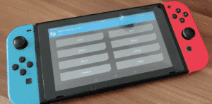 Breakthrough: Android tablet with controllers attached (Photo credits)
