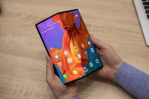 Same size, but lighter (Huawei Mate X's revised design)