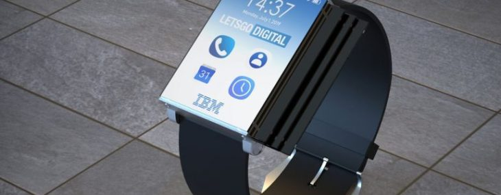 IBM patents the craziest design you have ever seen in a smartwatch