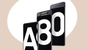 Samsung Galaxy A80 which features a rotating triple-lens camera is now available to purchase
