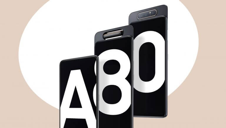 Samsung Galaxy A80 which features a rotating triple-lens camera is now available to buy