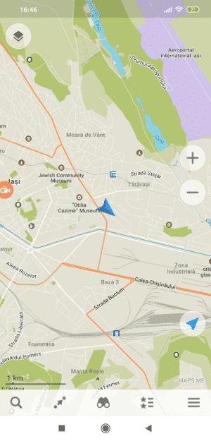 mapsme interface
