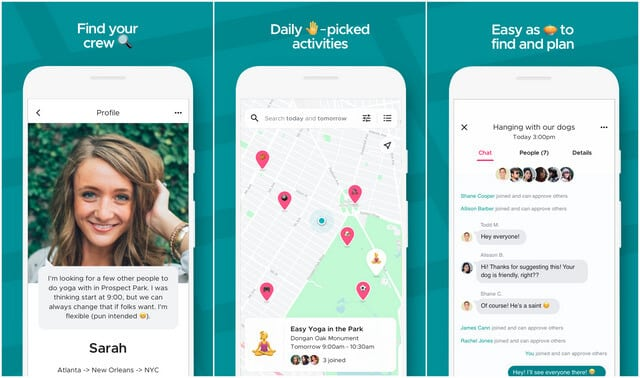 Shoelace encourages users to take friendship in real life and not just on the social network