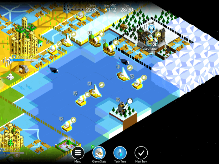 Sea battles are also pretty interesting and require different strategy