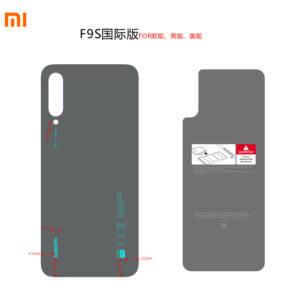 Xiaomi's new smartphone back label