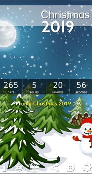 Days until Christmas - Christmas Countdown 2019