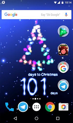 Days until Christmas - Christmas Countdown with Carols App