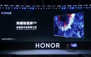 Honor Vision Smart TV will be the first product to run HarmonyOS