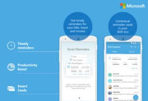 Users are alerted of contextual reminders in your SMS inbox