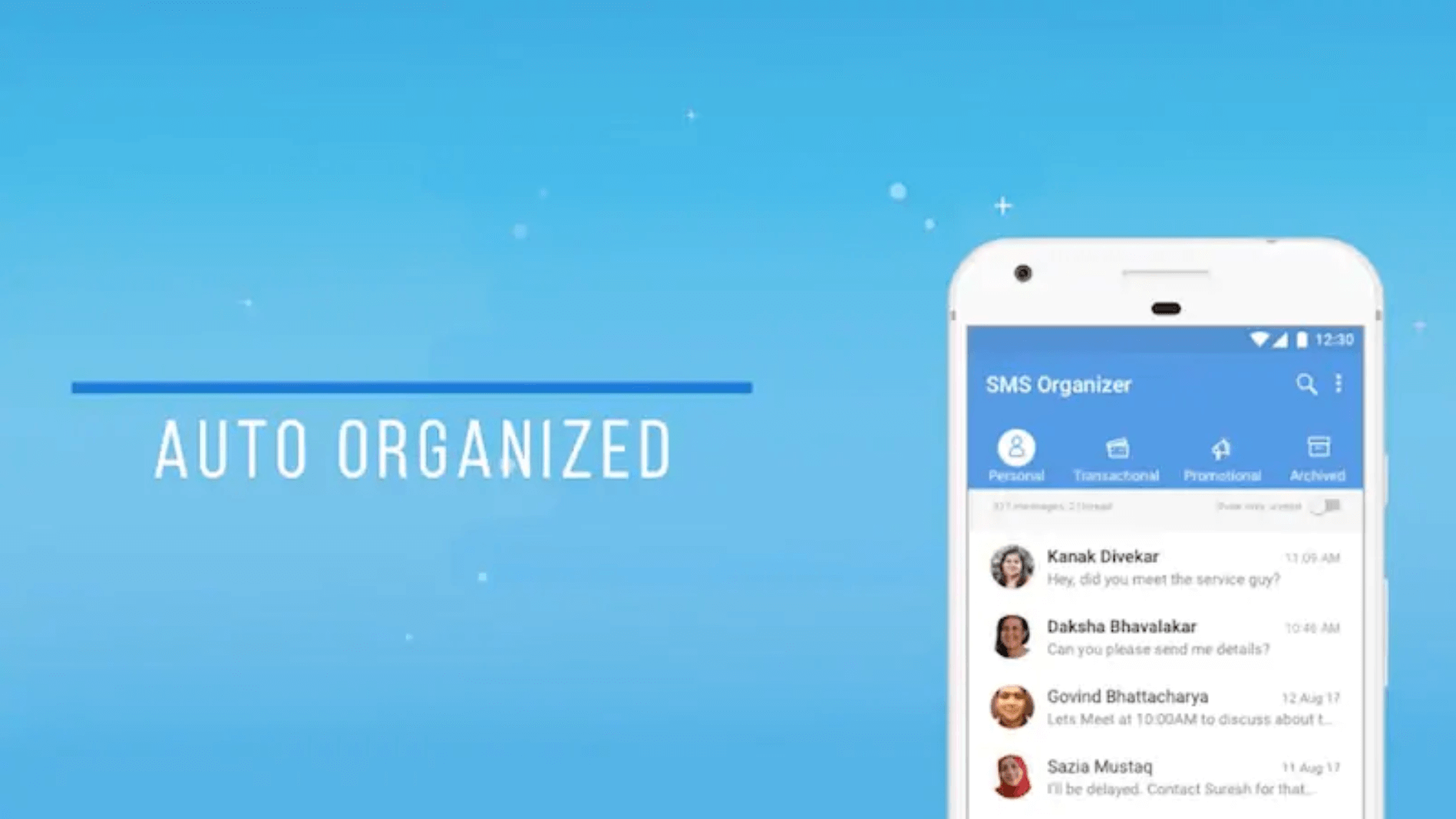 Microsoft's new SMS Organizer app for Android declutters your text messages