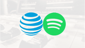 AT&T in collaboration with Spotify Music