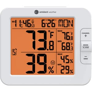 best-wifi-temperature-sensor-Ambient Weather Wireless Monitoring Station