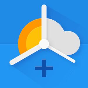chronus app screen display news clock weather