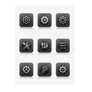 Android Phone Settings Icon