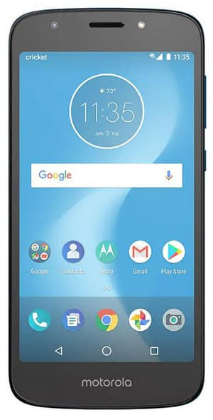Best Cricket Wireless Phone – Motorola Moto E5