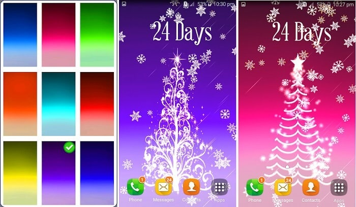 3D Christmas Tree Live Wallpaper