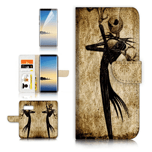 Nightmare Before Christmas Flip Wallet Case Cover