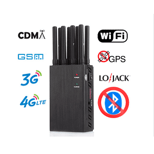 Portable 8 Bands Portable Cell Phone Jammer