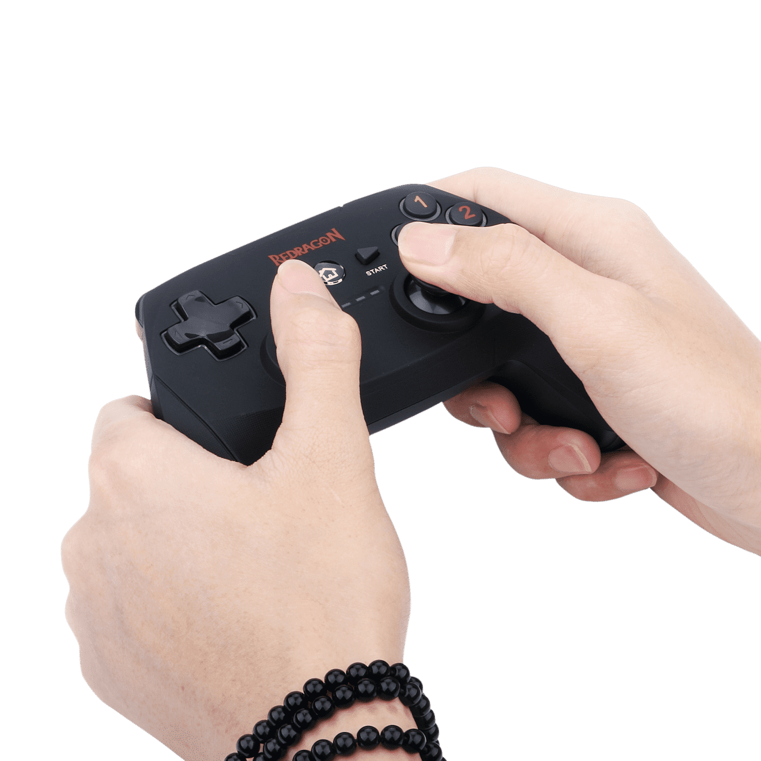 Redragon G808 Gamepad, PC Game Controller, Joystick with Dual Vibration, Harrow, for Windows PC, PS3, Playstation, Android, Xbox 360 2