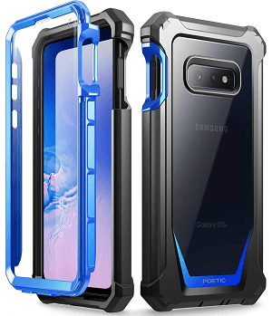 Rugged Clear Case, Poetic Full-Body Hybrid Bumper Cover