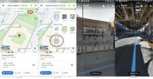 Street View now on Google Maps Android