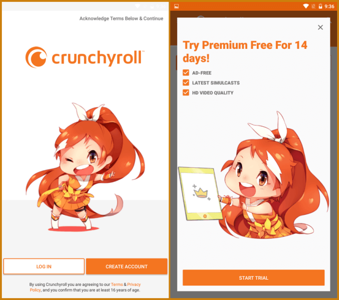 Best Anime Streaming Apps for Android - Crunchyroll