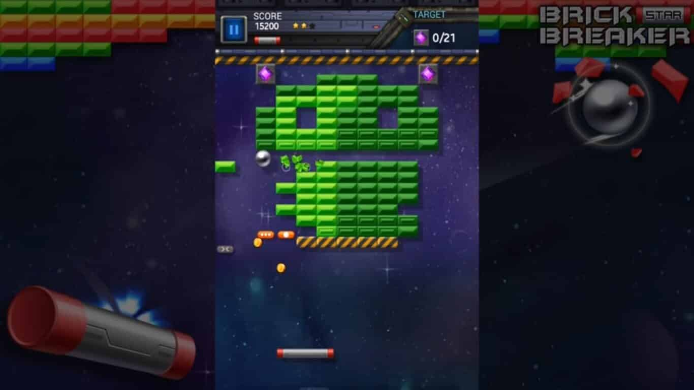 Arcade Game for Android: Brick Breaker Star: Space King Gameplay
