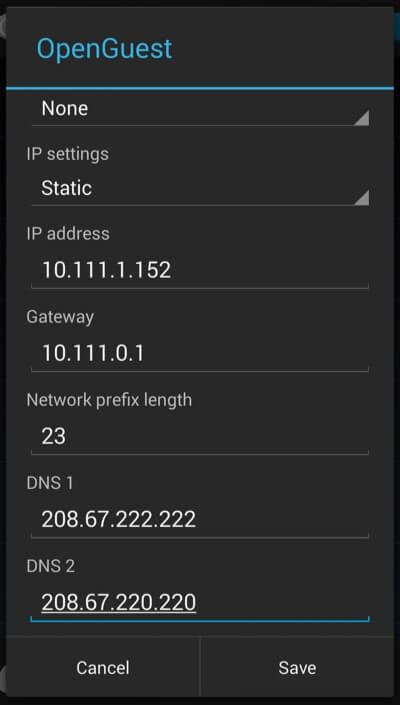 change_dns_android_opendns_settings