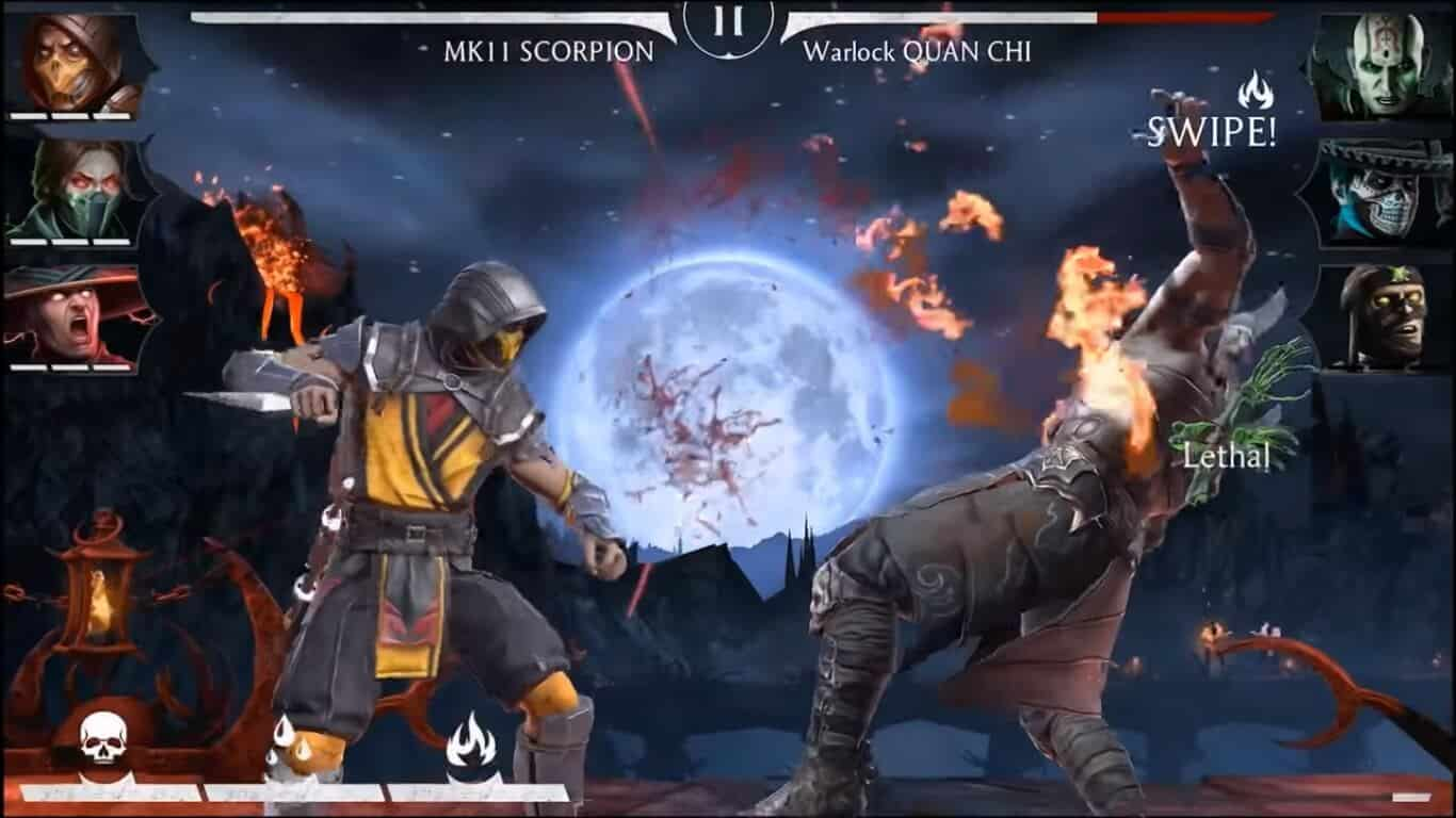 Arcade Game: Mortal Kombat Battlefield