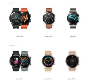 Huawei Watch GT 2 series