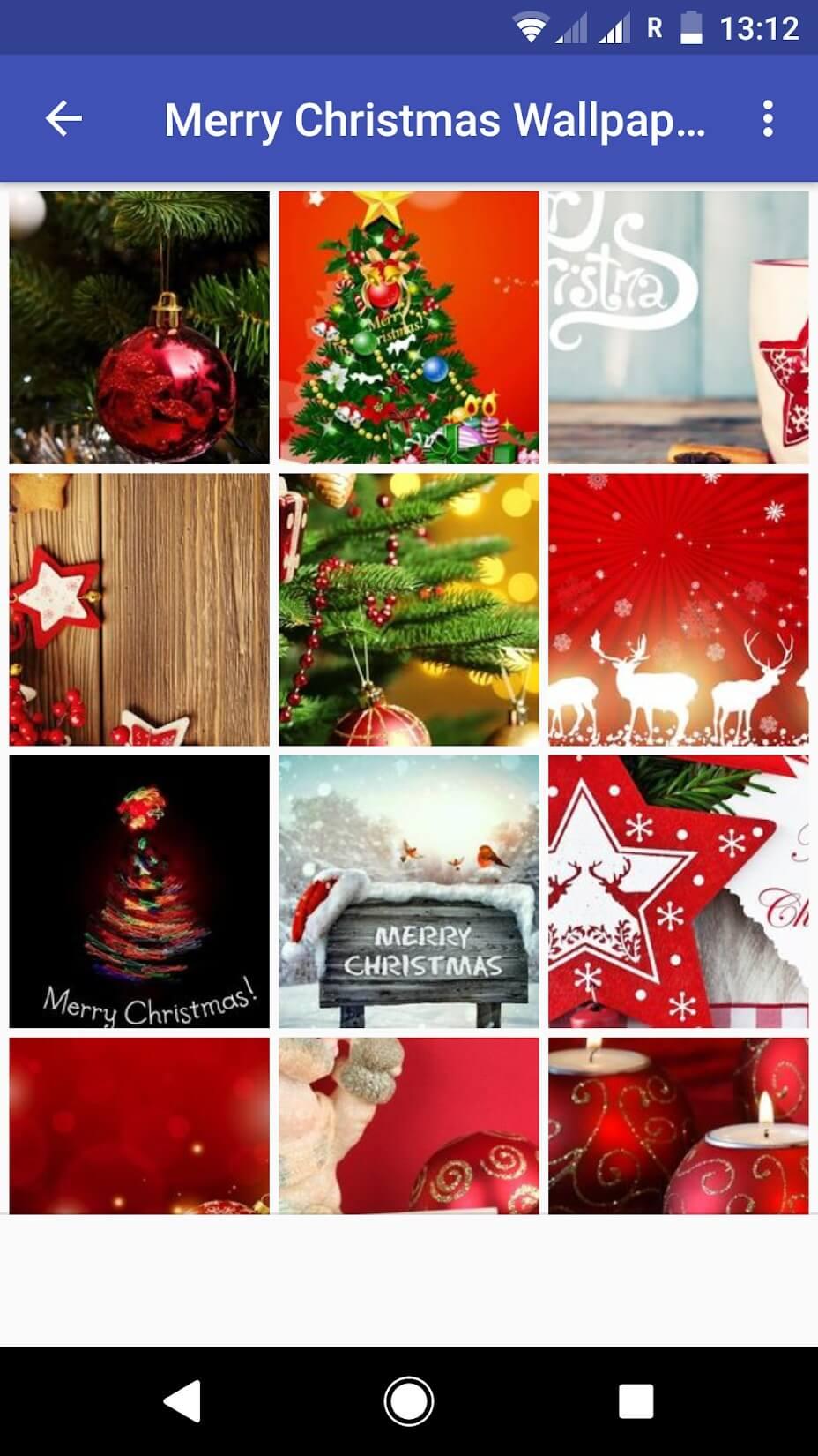 Christmas Clipart Wallpaper – Merry Christmas Wallpapers - Wallpaper Grid