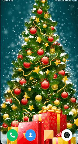 Christmas Clipart Wallpaper – Preview 2 of Christmas Wallpaper 4K Logo