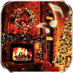 Christmas Fireplace Live Wallpaper Logo