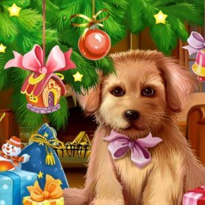 Christmas Puppy Live Wallpaper Live Wallpapers 3D