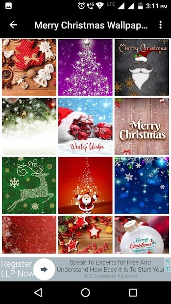 Clipart Gallery of Merry Christmas Wallpapers Hd