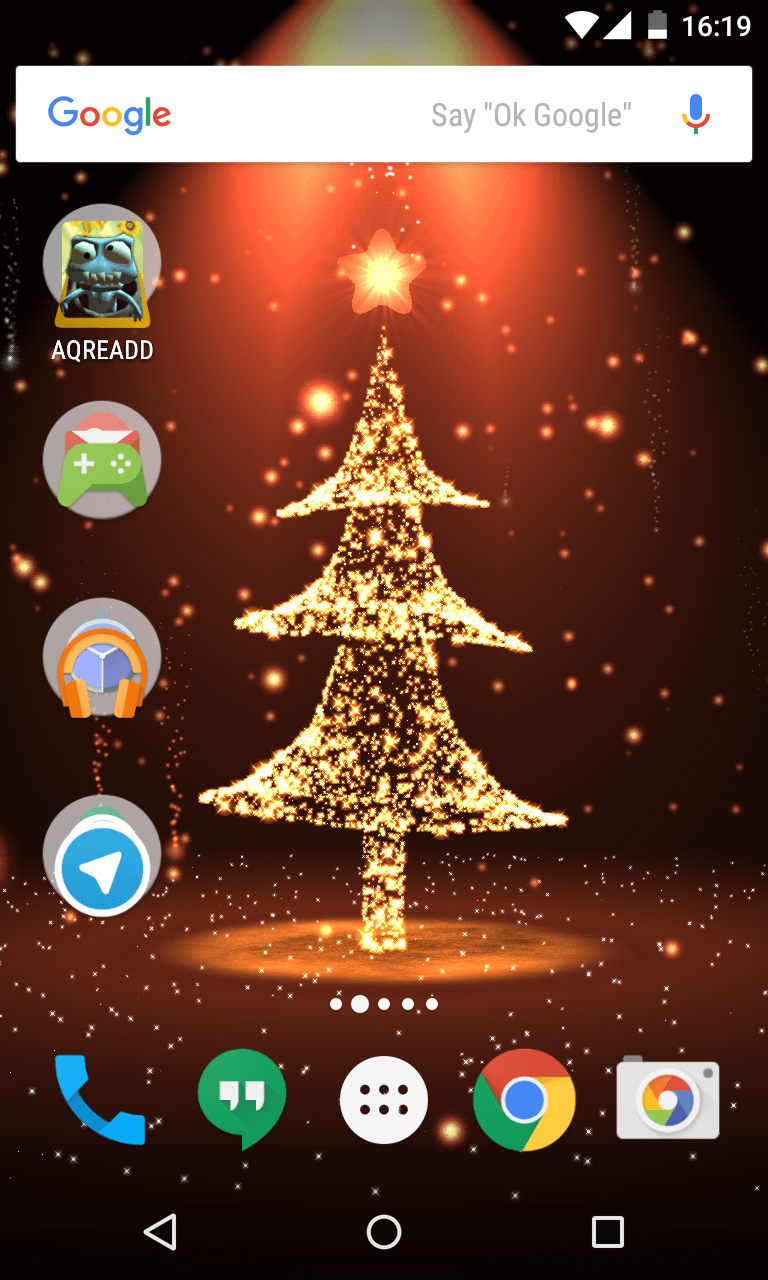 Preview of Christmas Tree Live Wallpaper