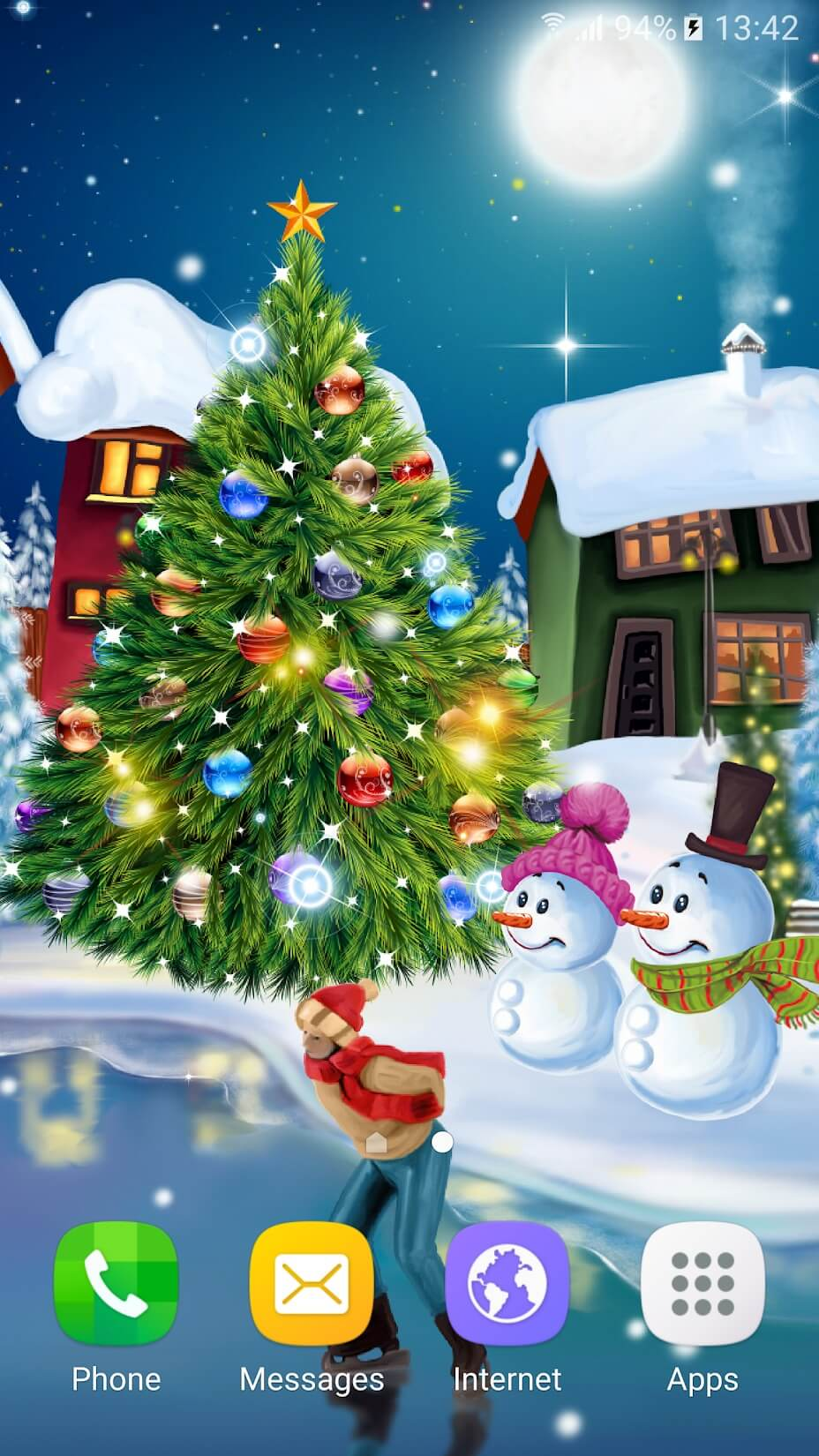 Preview of Christmas Wallpaper