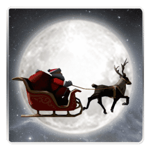 Santa 3D Live Wallpaper by bratanov