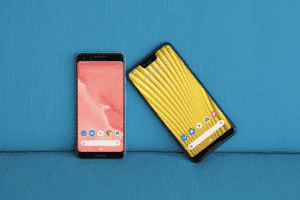 Pixel 4's new app 'Recorder' that automatically transcribes your voice memos (Photo is last year's Pixel 3 and Pixel 3 XL)