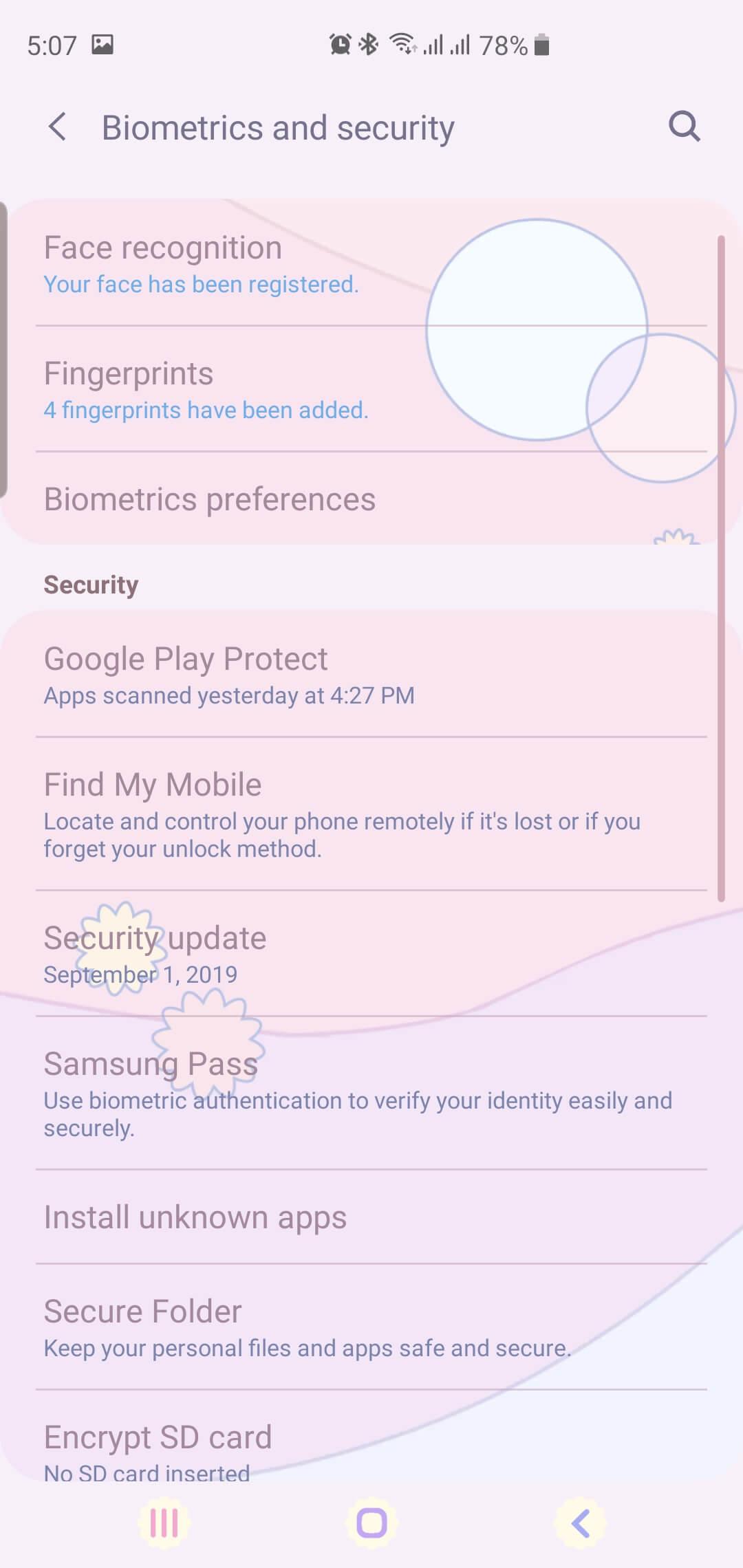 Biometrics ans Security