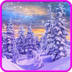 Winter and Christmas Wallpaper by Cosmic Mobile