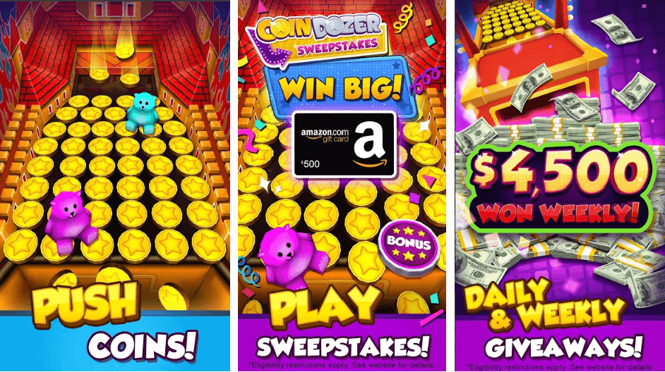 Arcade Game for Android: Coin Dozer Classic Prizes